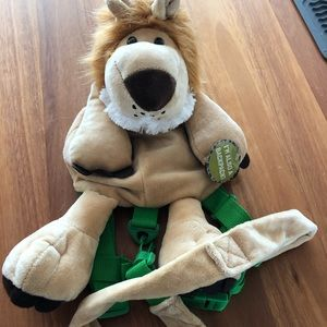 New Animal Planet lion kid's backpack